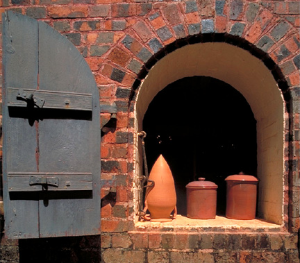 Martinique Pottery Kiln Ceramics